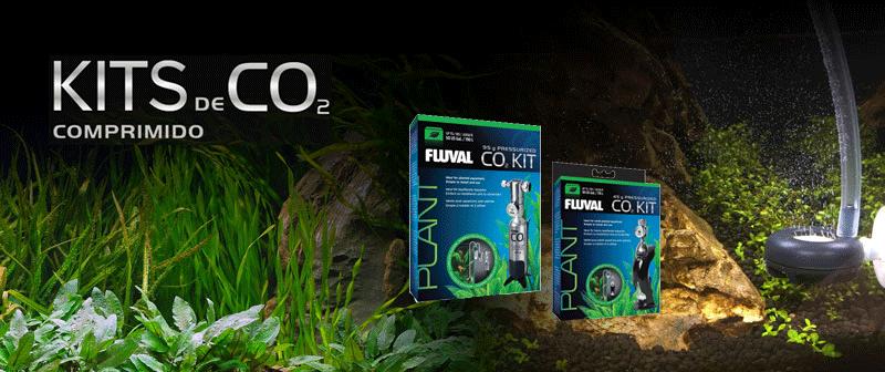 Kits de CO2 comprimido para acuarios