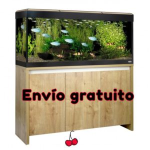 Fluval Roma 240 LED Bluetooth Acuario con mesa en roble