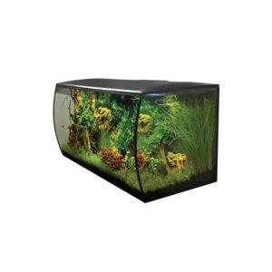 acuario fluval flex 123 litros negro