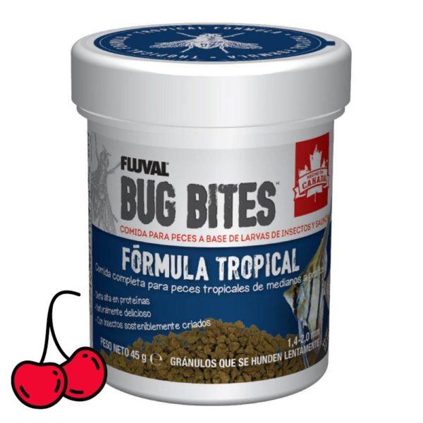Bug Bites para peces tropicales medianos y grandes