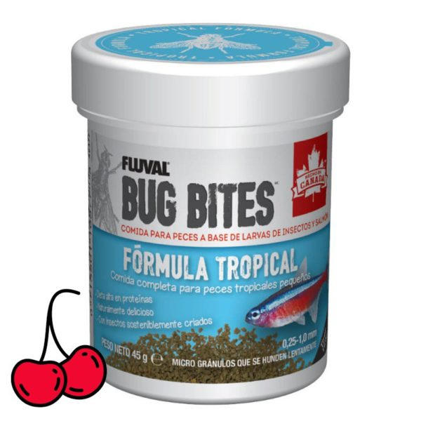 Bug Bites para peces tropicales pequeños y medianos
