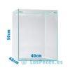 Acuario Cubo - Urna Scaper Cube 40x40x50 (80 litros)