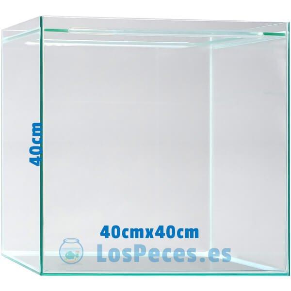 sera Scaper Cube 64 l urna con medidas