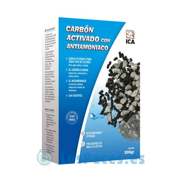 Carbón activado + Zeolita 200g