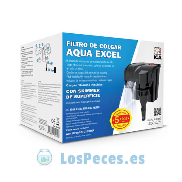 Filtro de cascada AQUA EXCEL caja
