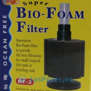filtro de esponja