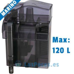 Skimmer exterior 2 en 1 de DOPHIN max 120 litros