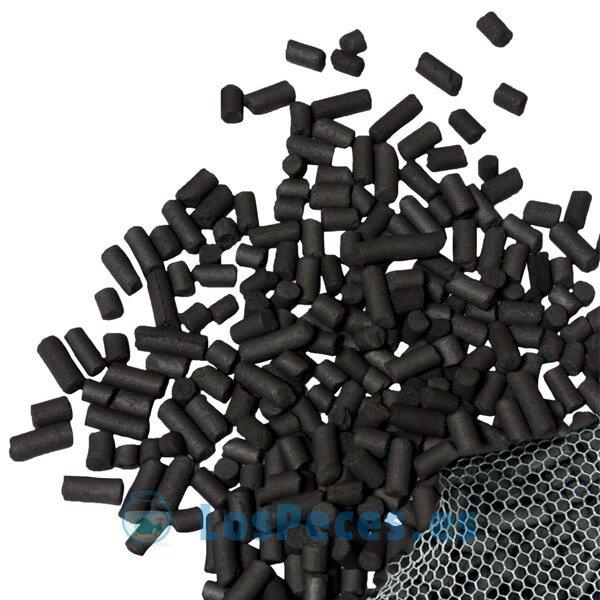 Carbón activado para acuarios