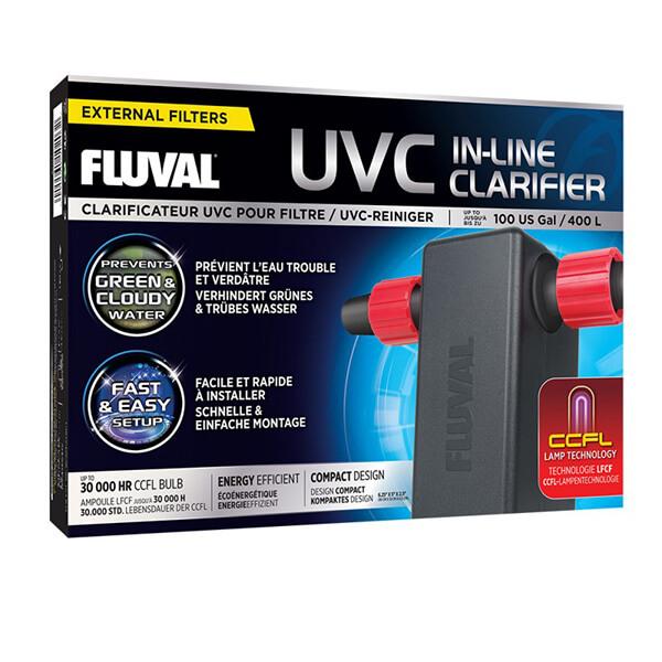 Clarificador UVC en línea Fluval