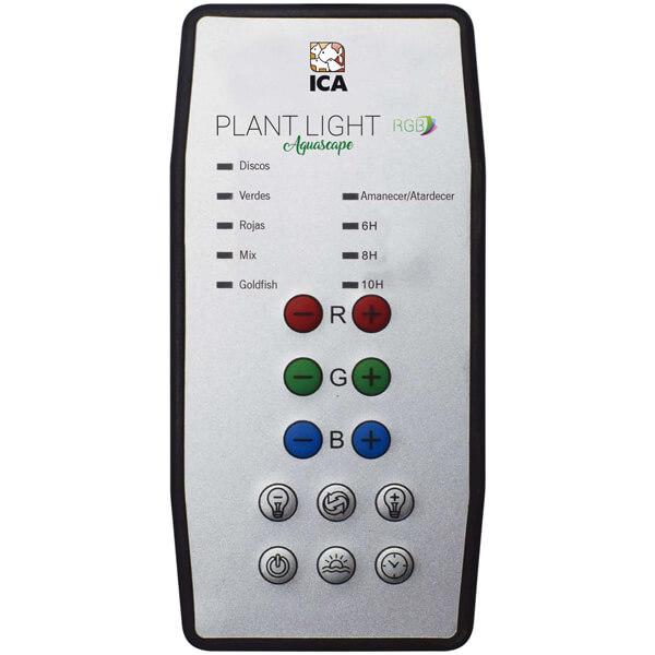 Lámpara Plant light Aquascape RGB mando