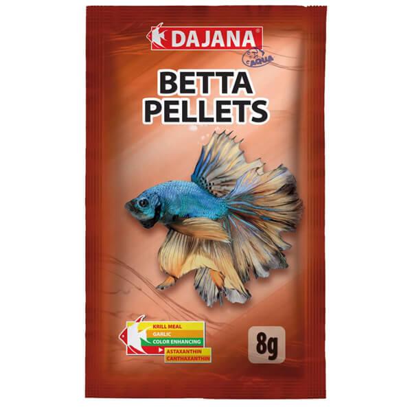 Pellets para peces Bettas